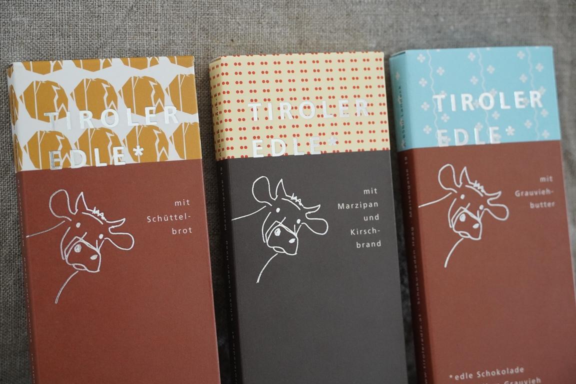 Neue Tiroler Edle Schokoladen