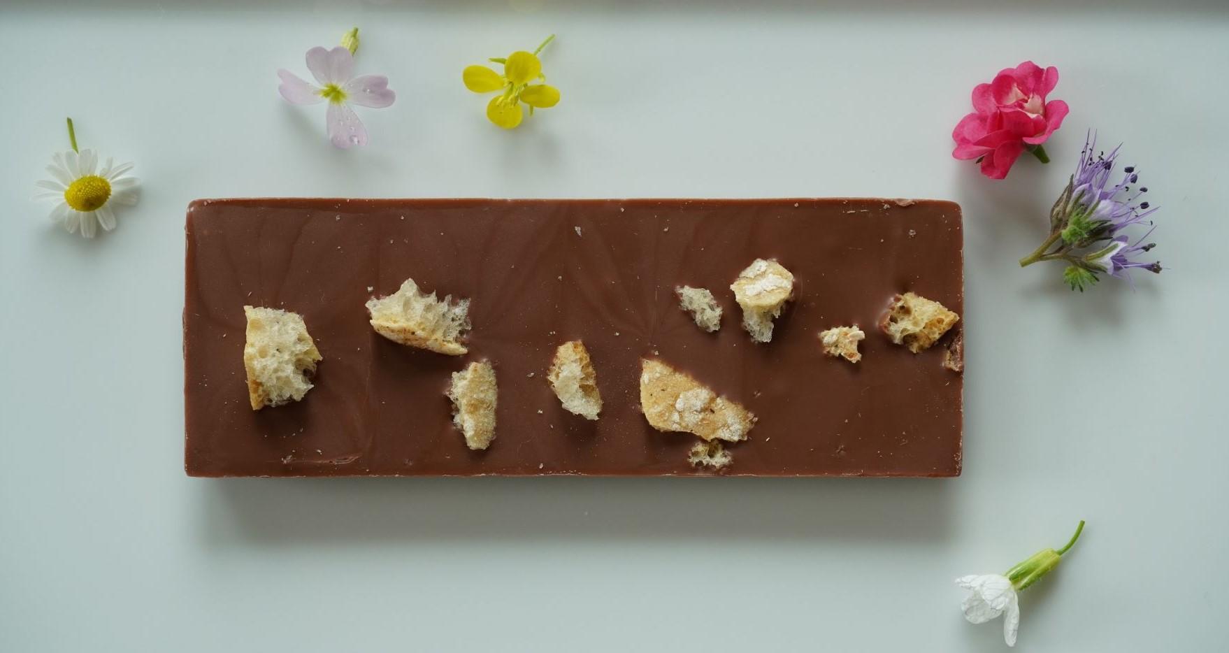 Tiroler Edle Schokolade mit Schüttelbrot